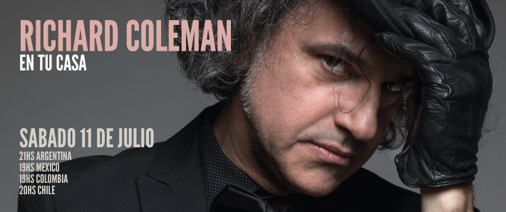 """Richard Coleman se prepara para tocar """"en tu casa"""" - Radio Cantilo"""