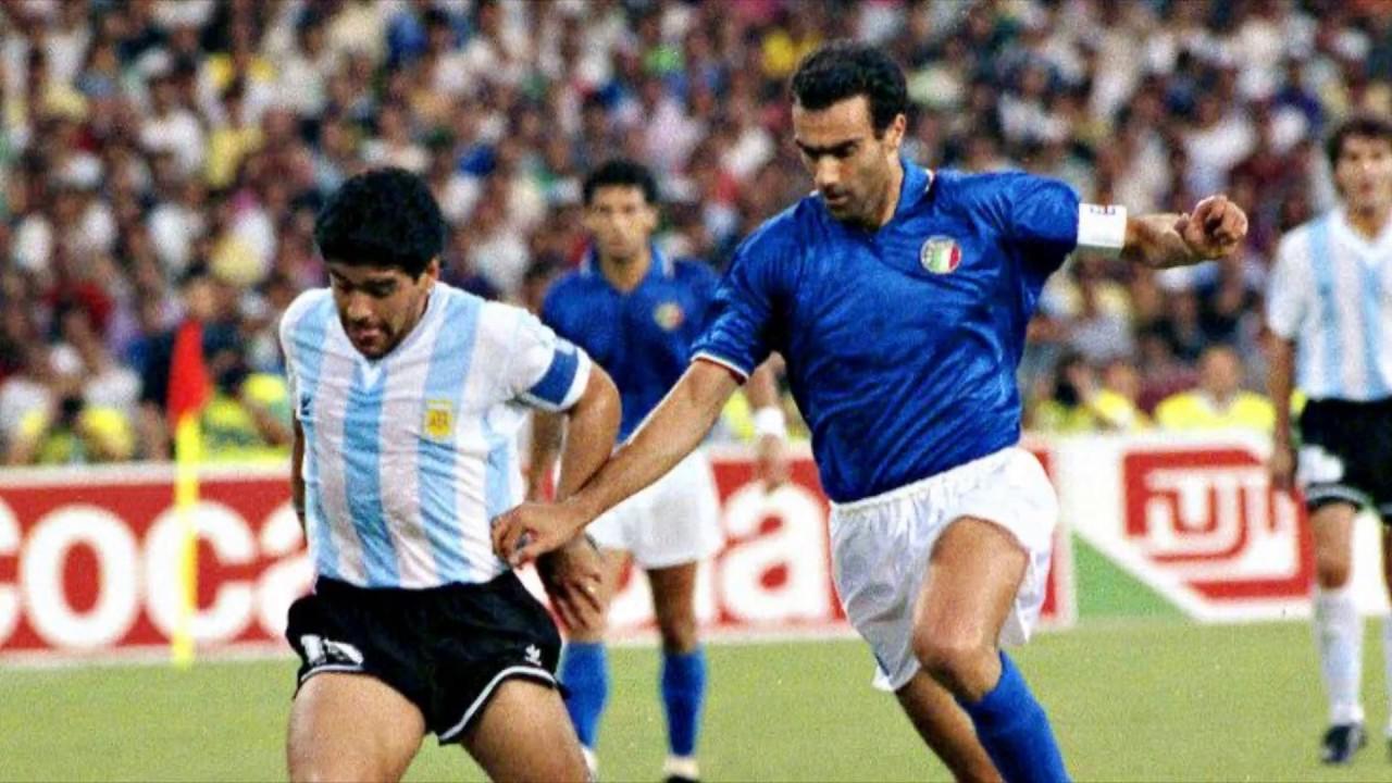 Números Redondos: A 30 años del partido contra Italia por la semifinal del Mundial '90 - Radio Cantilo